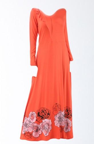 Orange Pyjama 8140-01