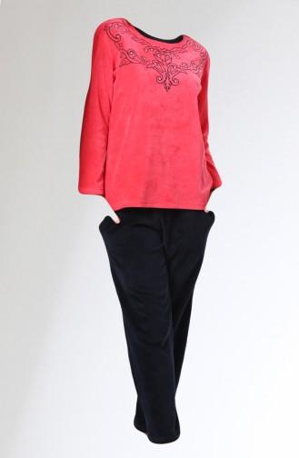 Pajamas Suit 8164-01 Pink 8164-01
