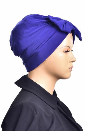 Sandy Turban Bonnet Prêt 1002-09 Bleu Roi 1002-09