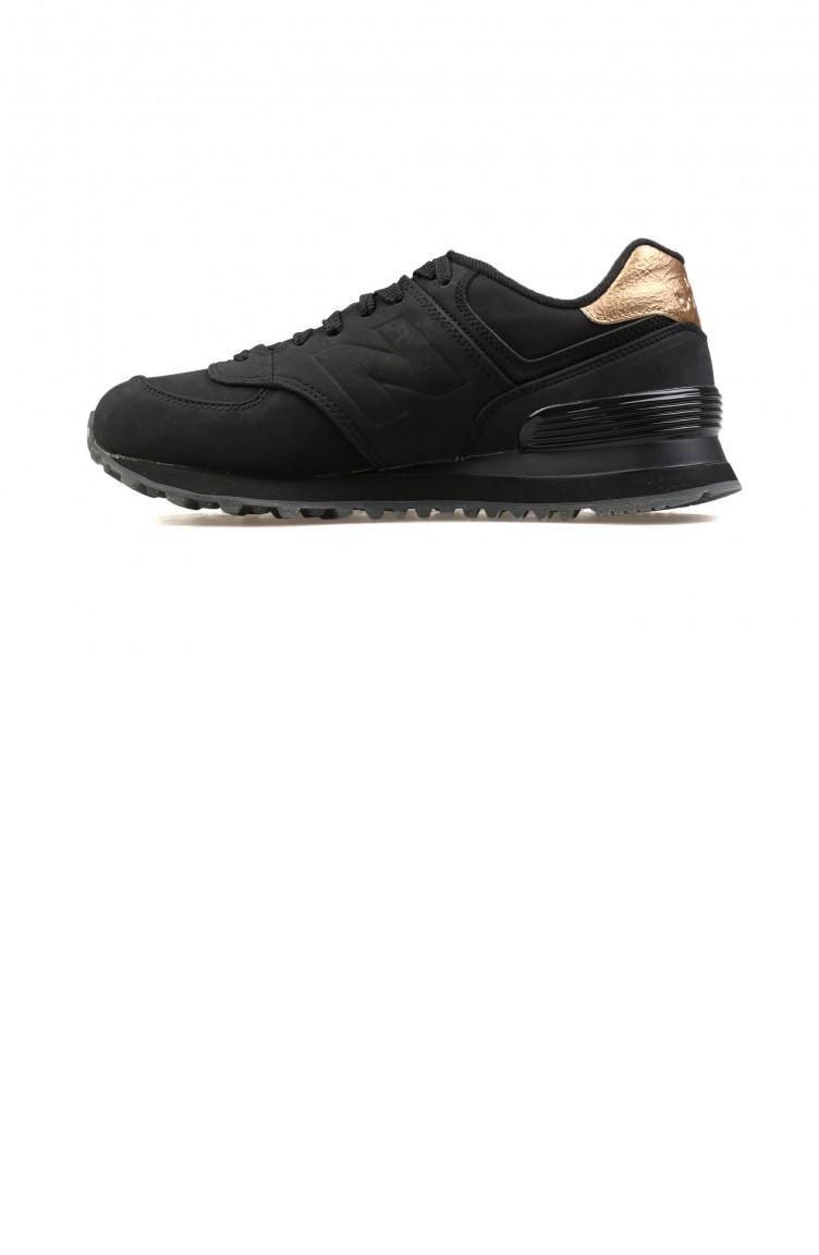 competitive price 6cb2f 3557a New Balance Black Women`s Shoes Wl574Mtc 610835
