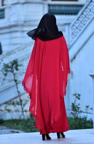 Robe de Soirée 4476-02 Rouge 4476-02
