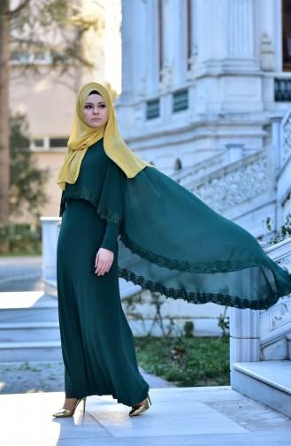 Emerald İslamitische Avondjurk 4476-07