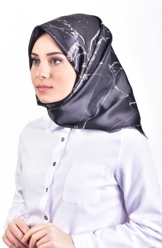 Tafta Eşarp 95053-07 Siyah 07