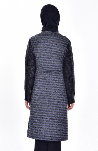 Quilted Coat 0407-03 Saxon Blue 0407-03