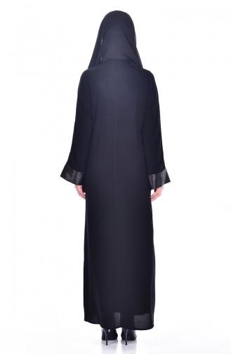 Dress Ferace Double Suit 7751-01 Black Beige 7751-01