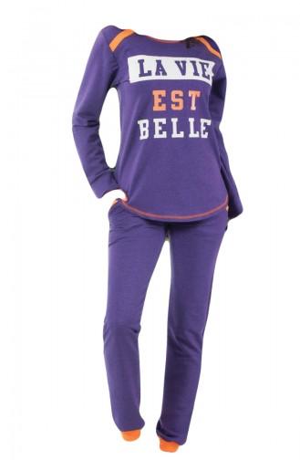 Purple Pyjama 8061-01