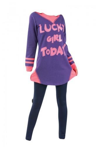 Purple Pyjama 8063-01