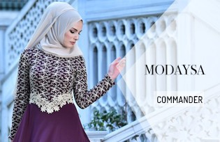 Modaysa Robe de Soirée Hijab