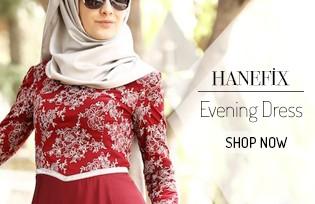Hanefix Islamic Evening Dress Models
