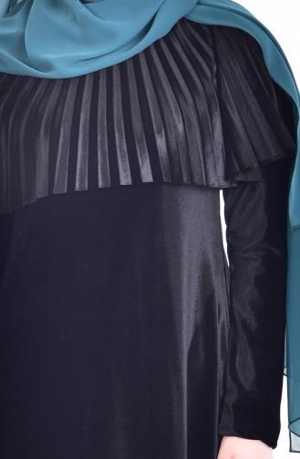 Robe Velours 1925-01 Noir 1925-01