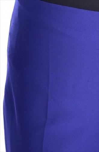 TUBANUR Side Zippered Pants 2875-10 Dark Saks 2875-10