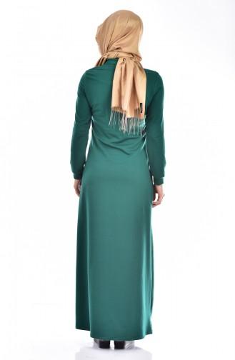 Robe 1582-02 Vert 1582-02