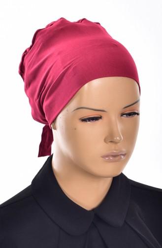 Bonnet Grande Taille Sans Couture 02 Bordeaux 02