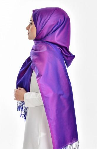 Châle Taffetas 503138-36 Violet 36