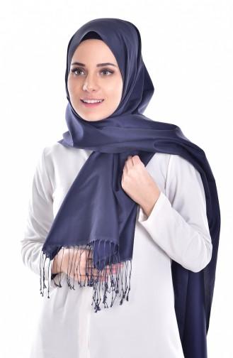 Navy Blue Sjaal 19