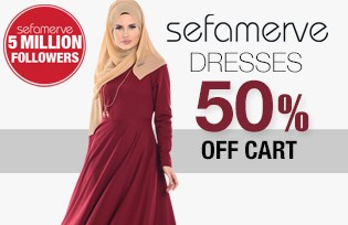 50% Off of Cart on Dress Models
