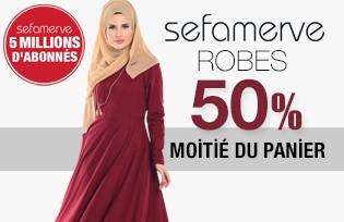 Modeles de Robes -50% Motié du Panier