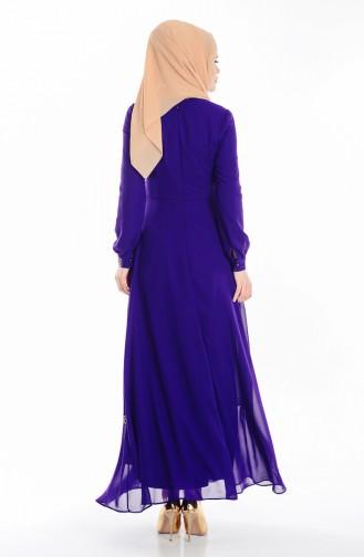 Purple İslamitische Jurk 99040-05