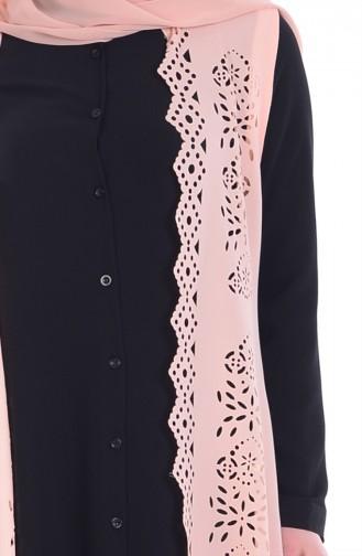 Gömlek Yelek İkili Takım 3042-05 Siyah Somon 3042-05