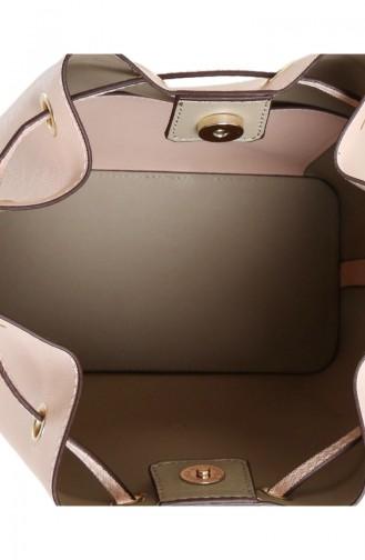 بيفرلي هيلز بولو كلوب حقيبة كتف نسائية 650 BHP0542-01 لون وردي 650BHP0542