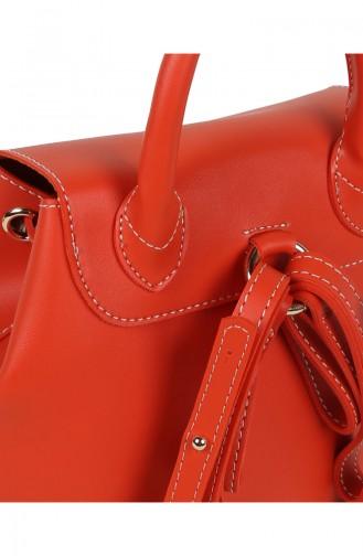 Beverly Hills Polo Club Women´s Backpack 650BHP0696-01 Orange 650BHP0696