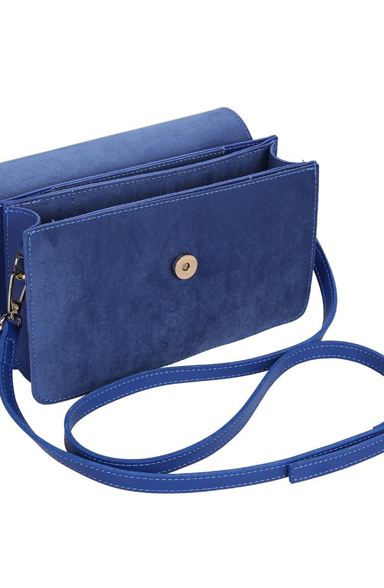 0b9d7a48b7717 لورا أشلي حقيبة 651LAS0886-01 لون أزرق 651LAS0886-01