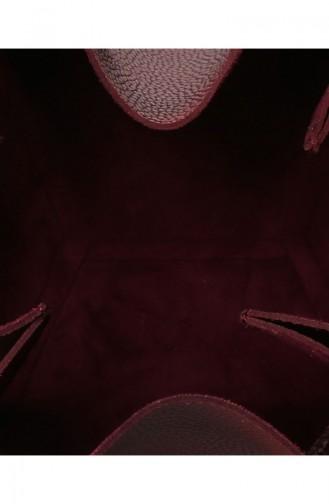 بيفرلي هيلز بولو كلوب حقيبة كتف نسائية  650 BHP0647-01 لون خمري 650BHP0647