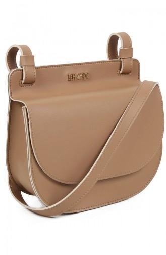 Beverly Hills Polo Club Women´s Shoulder Bag 650BHP0709-01 Camel 650BHP0709