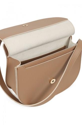 بيفرلي هيلز بولو كلوب حقيبة كتف نسائية 650 BHP0709-01 لون عسلي 650BHP0709