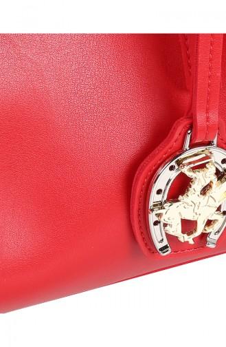Red Shoulder Bags 657BHP0558