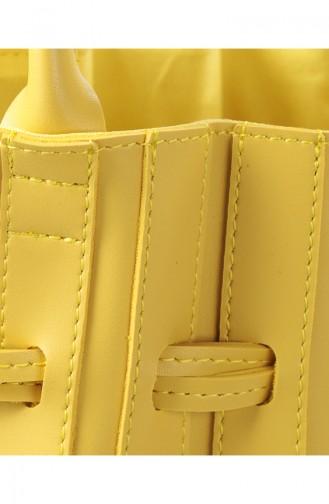 بيفرلي هيلز بولو كلوب حقيبة كتف نسائية 657 BHP0572-01 لون أصفر 657BHP0572