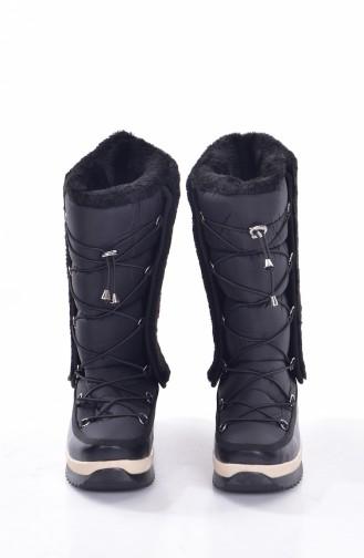 Black Bot-bootie 0223A-03