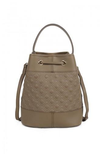 Laura Ashley Women´s Shoulder Bag 651LAS0661-01 Dark Mink 651LAS0661-01
