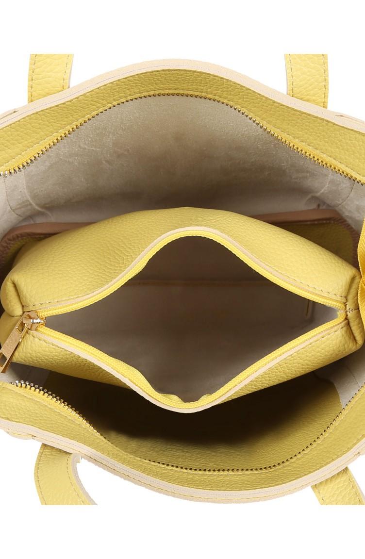78e8e9b9d3e76 لورا أشلي حقيبة نسائية 651LAS0703-01 لون أصفر 651LAS0703-01