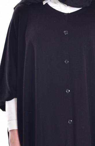 Button Poncho 4029-04 Black 4029-04
