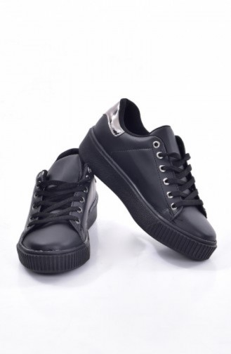 Black Sport Shoes 0778-06