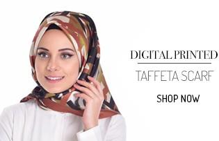 Dijital Baskılı Tafta Eşarp 95070