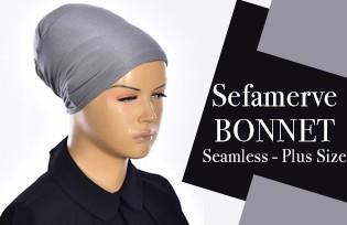 SEFAMERVE BONNET SEAM-FREE