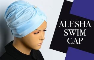 ALESHA SWIM CAP MODELS