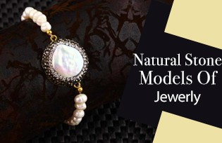 Natural Stone Jewelry Models