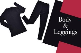 Modèles de Body et Leggings