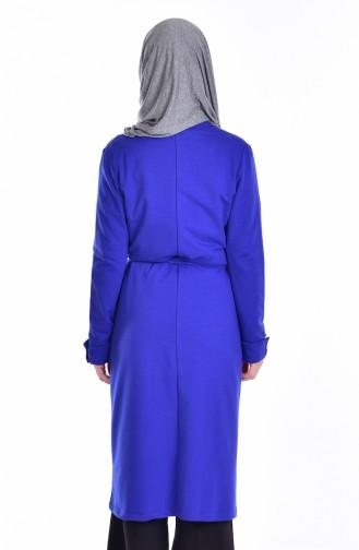 Saxon blue Cardigan 1165-01