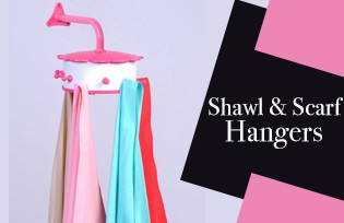 Shawl and Scarf Hangers