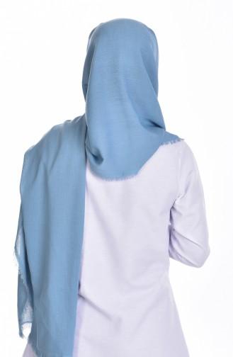 Elizan XXL Châle Crêpe 50050-54 Bleu 54