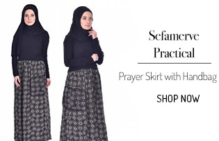 Sefamerve Handy Practical Prayer Dress