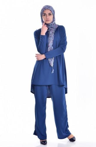 Tunik Pantolon İkili Takım 1931-04 İndigo 1931-04