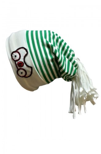 Green Hat and bandana models 38