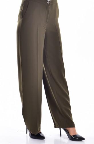 Hosen mit Tasche  0352-04 Khaki 0352-04
