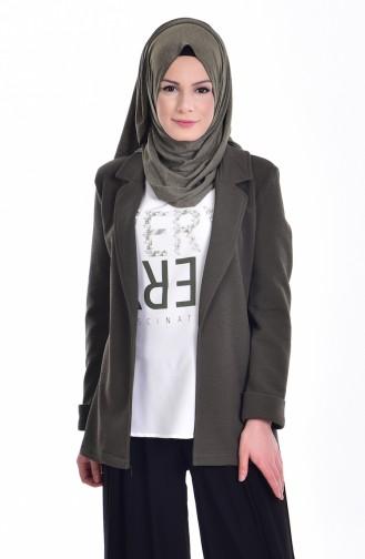 Ceket Bluz İkili Takım 8913-06 Haki