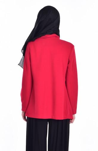 Blouse Jacket Double Suit 8914-02 Red 8914-02